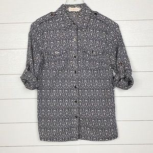 Tory Burch Button Down Shirt in a Size 4.